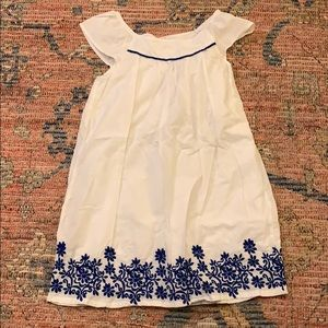 Blue/white summer dress